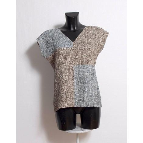 Top, tee-shirt COTÉLAC Marron