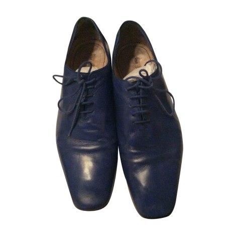 Chaussures à lacets JEAN BAPTISTE RAUTUREAU Bleu, bleu marine, bleu turquoise