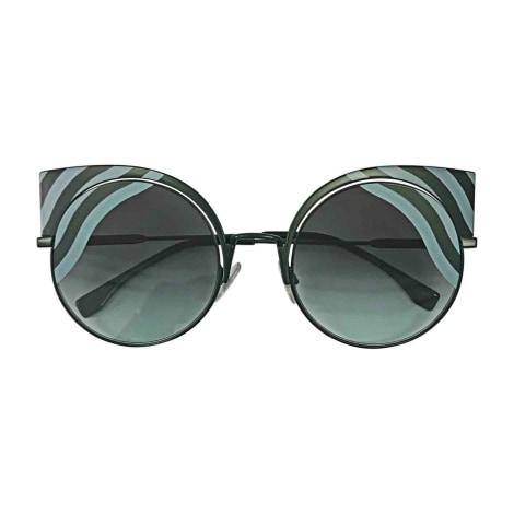 Sunglasses FENDI Blue, navy, turquoise