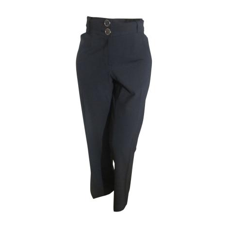 Pantalon droit BURBERRY Noir
