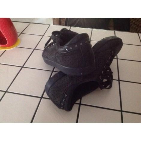 Chaussures à lacets  COMPTOIR DES COTONNIERS Noir