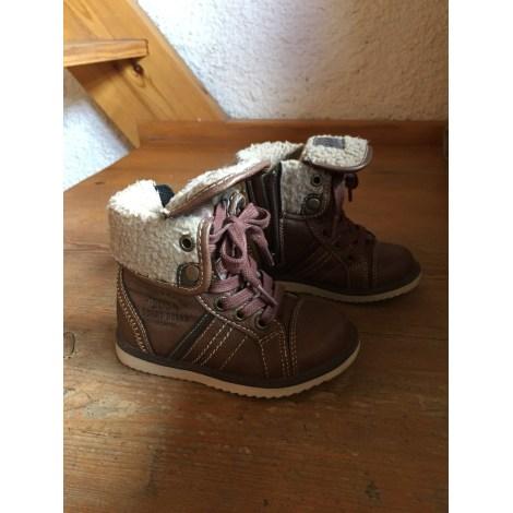 Lace Up Shoes GÉMO Brown