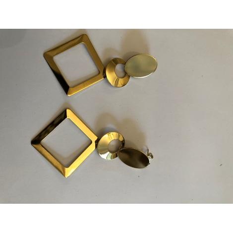 Boucles d'oreille NON SIGNÉ Doré, bronze, cuivre