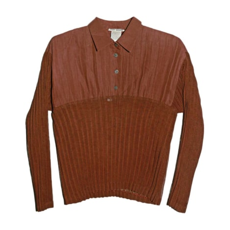 Polo ISSEY MIYAKE Doré, bronze, cuivre