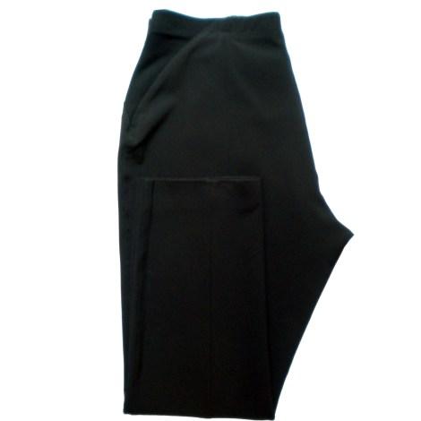 Pantalon droit ELENA MIRO Noir