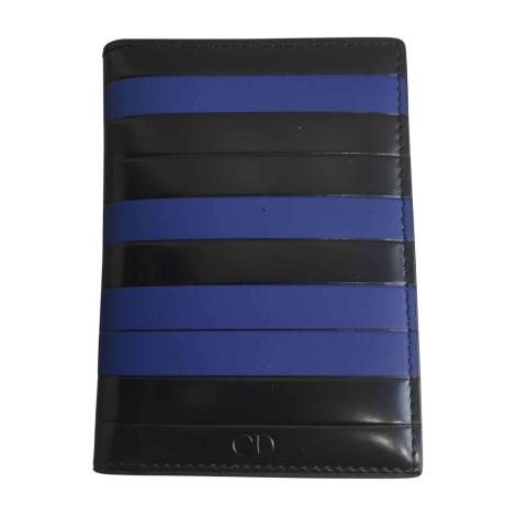 Portefeuille DIOR HOMME Bleu, bleu marine, bleu turquoise