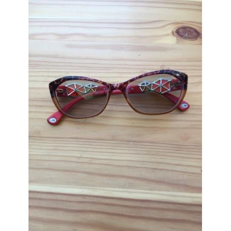 Eyeglass Frames LA MATTA Red, burgundy