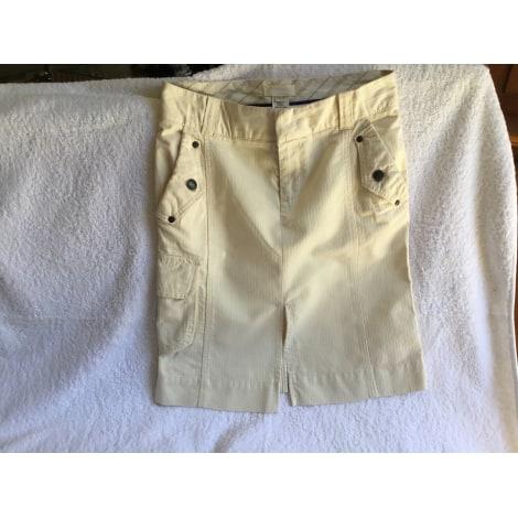 Jupe mi-longue DIESEL Blanc, blanc cassé, écru