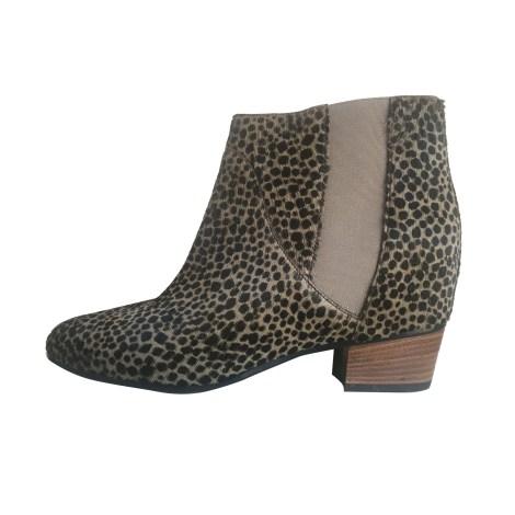 Bottines & low boots à talons GOLDEN GOOSE Imprimés animaliers