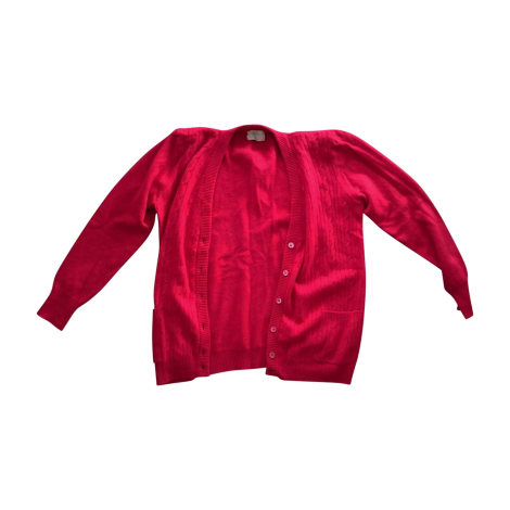 Gilet, cardigan VALENTINO Rouge, bordeaux