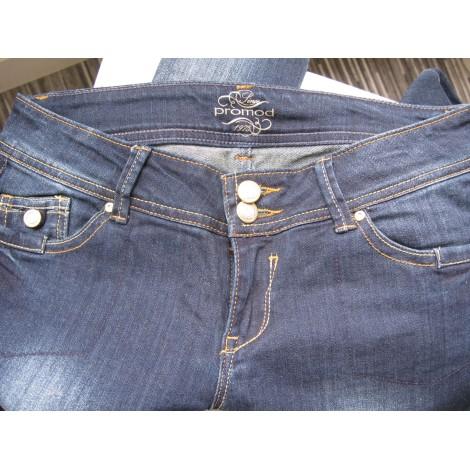 Jeans évasé, boot-cut PROMOD Bleu, bleu marine, bleu turquoise