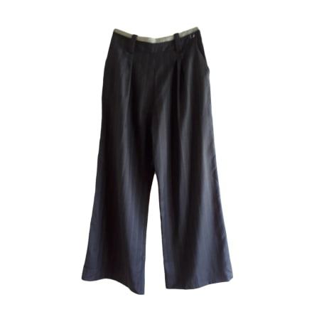 Pantalon large ARMAND VENTILO Noir