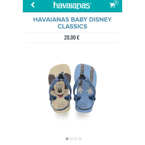 Sandals HAVAÏANAS Blue, navy, turquoise