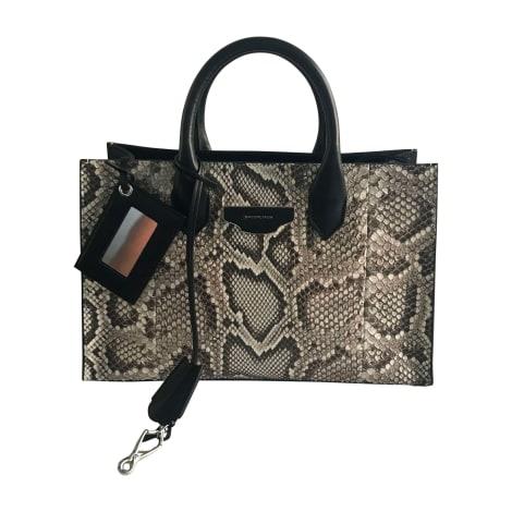Leather Handbag BALENCIAGA Papier Multicolor