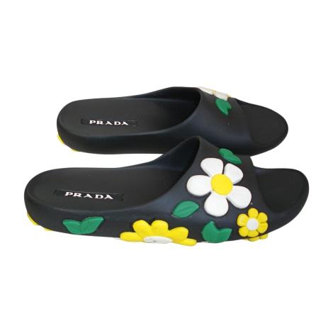Flat Sandals PRADA Multicolor