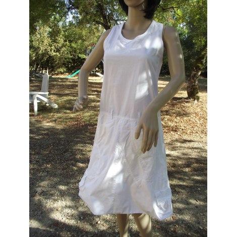 Robe dos nu DESIGUAL Blanc, blanc cassé, écru