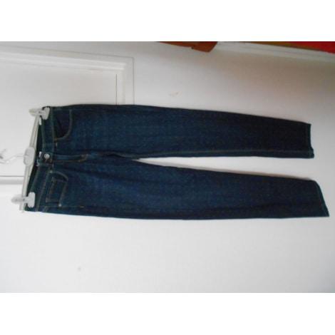 Jeans droit ST JAMES Bleu, bleu marine, bleu turquoise
