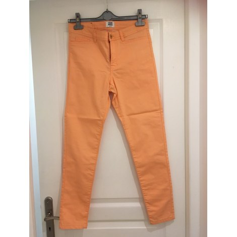 Pantalon slim, cigarette VERO MODA Orange