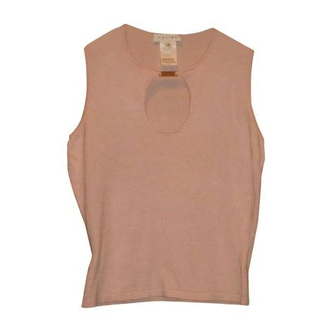 Top, tee-shirt CÉLINE Rose, fuschia, vieux rose