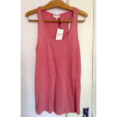 Top, tee-shirt BEL AIR Rouge, bordeaux