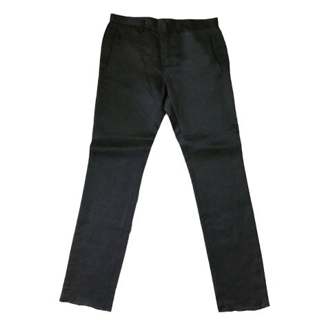 Pantalon droit DIRK BIKKEMBERGS Noir