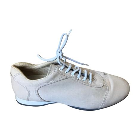 Chaussures à lacets  PRADA Beige, camel