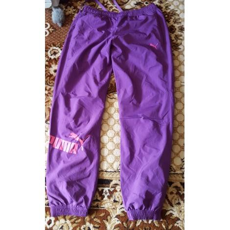Pantalon de survêtement PUMA Violet, mauve, lavande