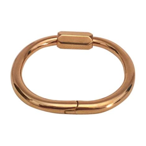 Bracelet CÉLINE Doré, bronze, cuivre