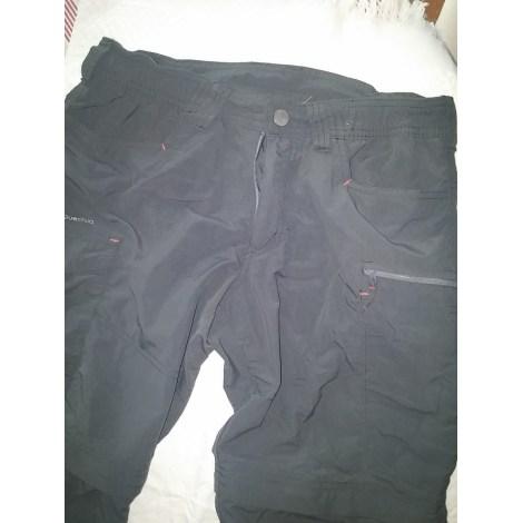Pantalon droit QUECHUA Gris, anthracite