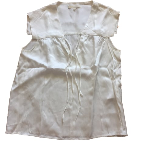 Blouse MAJE Blanc, blanc cassé, écru