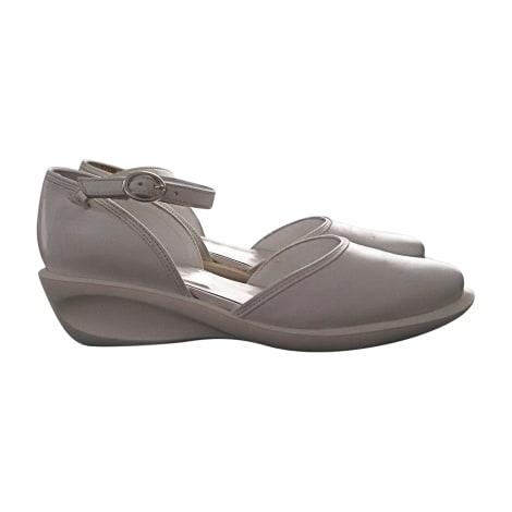 Sandales compensées ROBERT CLERGERIE Blanc, blanc cassé, écru