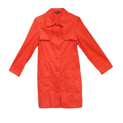 Imperméable, trench APC Orange
