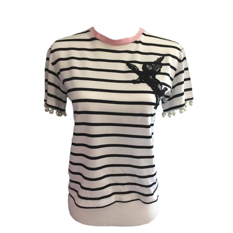 Top, tee-shirt PINKO Blanc, blanc cassé, écru