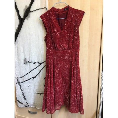 Robe courte MONOPRIX Rouge, bordeaux