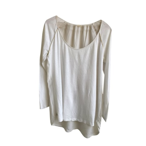 Top, tee-shirt DES PETITS HAUTS Blanc, blanc cassé, écru