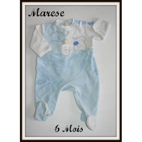 Pyjama MARÈSE Bleu, bleu marine, bleu turquoise