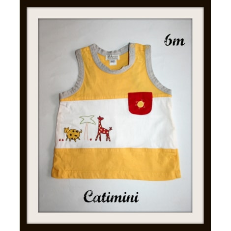 Top, tee shirt CATIMINI Jaune