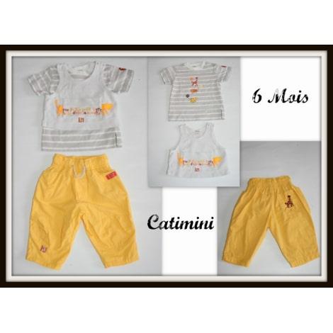 Ensemble & Combinaison pantalon CATIMINI Jaune