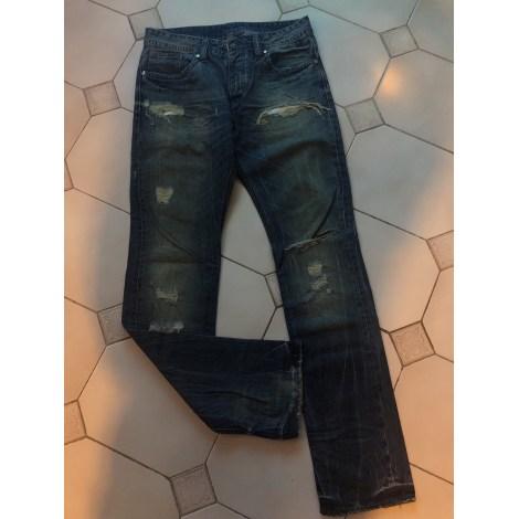 Pantalon droit KAPORAL Bleu, bleu marine, bleu turquoise
