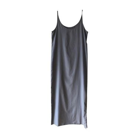 Robe longue GIANFRANCO FERRE Gris, anthracite
