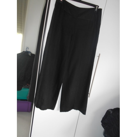 Pantalon large SARAH PACINI Noir