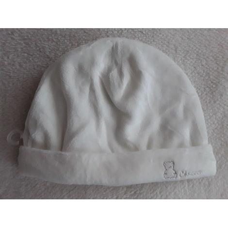 Bonnet CHICCO Blanc, blanc cassé, écru