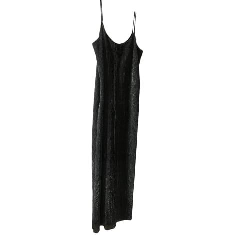 Robe longue CLAUDIE PIERLOT Argenté, acier