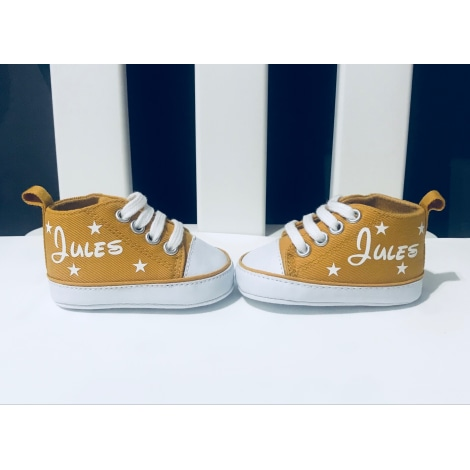 Sneakers MARQUE INCONNUE Yellow