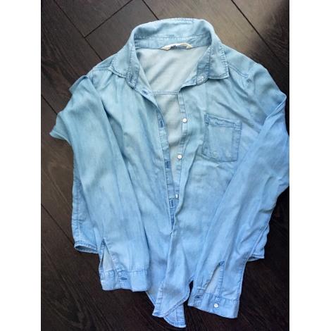 Chemise H&M Bleu jeans