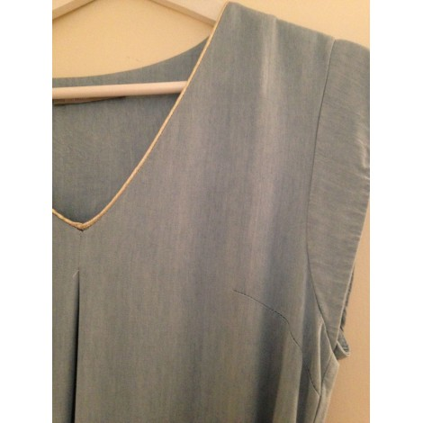 Robe mi-longue MAMOUCHKA Bleu, bleu marine, bleu turquoise