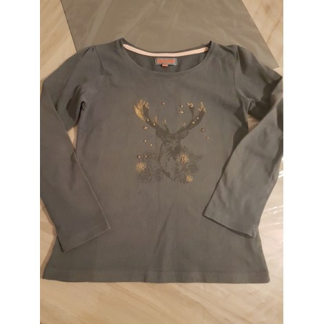 Top, Tee-shirt KID'S GRAFFITI Gris, anthracite