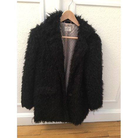 Manteau en fourrure HARTFORD Noir