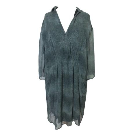 Robe mi-longue SWILDENS Vert