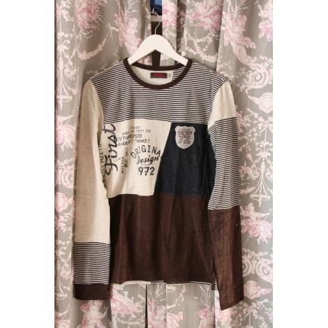 Top, Tee-shirt CATIMINI Marron